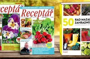 Roční předplatné Receptáře se speciály a knihou