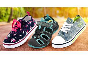 Dětské letní boty Alpine Pro: tenisky i sandály