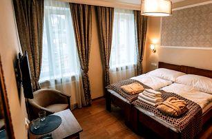 Wellness pobyt v centru Karlových Varů pro dva