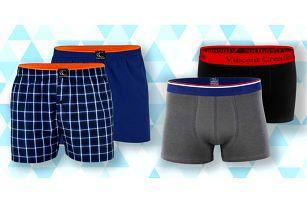 Pánské boxerky a trenky: 13 variant v mnoha barvách