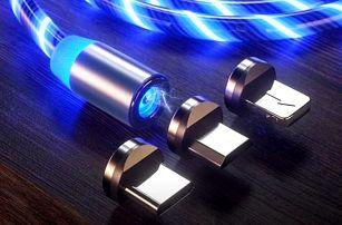Magnetický USB nabíjecí kabel Jett