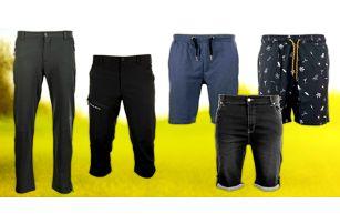 Pánské kalhoty a šortky Alpine Pro: 5 variant