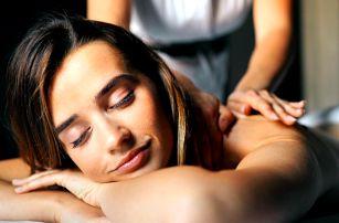 75 minut individuální masáže celého těla na míru