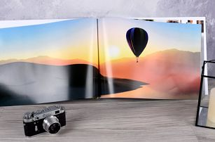 Fotokniha na šířku ve formátu A5, A3 a čtverecová