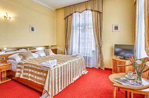 Karlovy Vary v Park Spa Hotelu Sirius **** až s 6 wellness procedurami, ovocem na pokoji a polopenzí