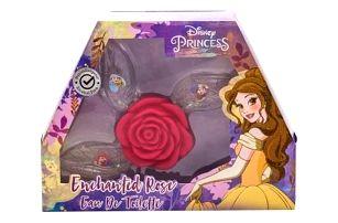 Disney Princess Princess dárková kazeta pro děti toaletní voda Ariel 15 ml + toaletní voda Belle 15 ml + toaletní voda Cinderella 15 ml miniatura