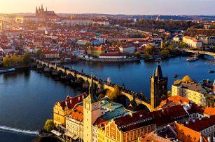 Praha v páru či s rodinou: až 7 nocí i se snídaní