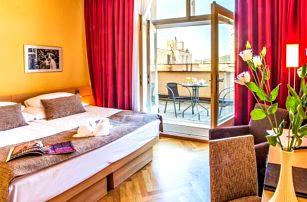 Praha přímo v centru v Hotelu Amarilis **** se snídaněmi a privátním wellness + dítě do 6 let zdarma