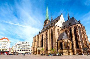 Léto v Plzni: hotel se snídaní pro pár i rodinu