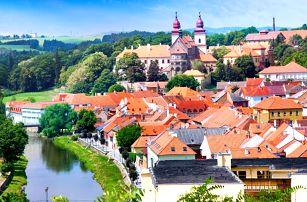Letní pobyt v srdci Třebíče: polopenze a bazén