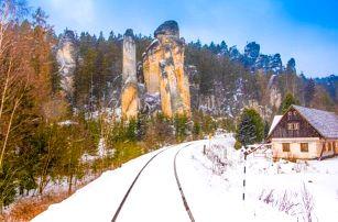 Adršpach: dovolená v Hotelu Praha *** u skalního města s polopenzí a wellness