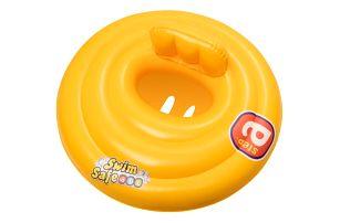 Bestway Nafukovací baby sedací kruh s opěrkou, průměr 69cm