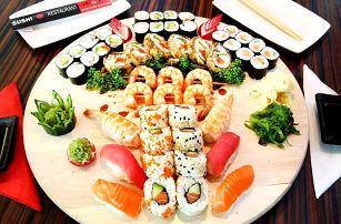 Dejte si rolované dobroty: 21, 34 a 50 ks sushi