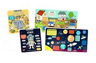 Interaktivní dětské knihy Malý průzkumník