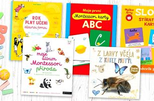 Montessori i další naučné a zábavné knihy pro děti