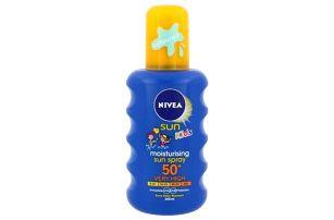 Nivea Sun Kids SPF50+ 200 ml opalovací přípravek pro dětskou pokožku pro děti