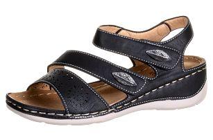 Dámské zdravotní sandály Koka na suchý zip umělá kůže ZX0039-0902