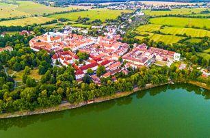 Jižní Čechy: Třeboň v Hotelu Myslivna *** se vstupem do bazénu v lázních Aurora, solnou jeskyní a polopenzí