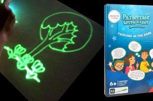 Světelné omalovánky pro děti od 6 let