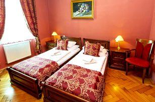 4* hotel v Jičíně: 1–2 noci vč. jídla a wellness