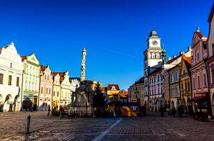 Renesanční hotel v Třeboni s polopenzí i wellness