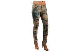 Dámské batikované kalhoty- i pro plnoštíhlé
