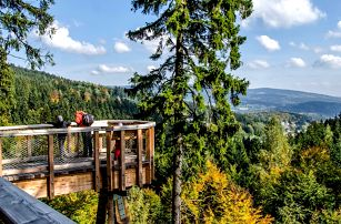 Krkonoše pro rodiny: polopenze a stezka korunami stromů