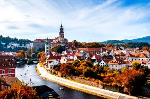 Český Krumlov: romantika, historie i plavba lodí