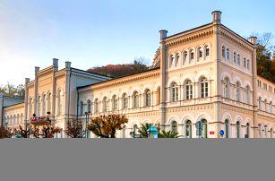 Wellness pobyt v hotelu Windsor Karlovy Vary se snídaní nebo polopenzí