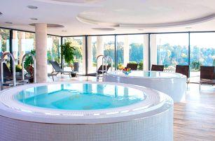 4* luxus ve Velichovkách: jídlo, wellness, bazén