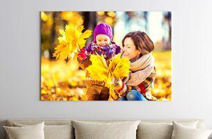 Fotoobraz na plátně vytvořený z vaší fotky
