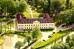 Romantický pobyt v Chateau Kynšperk s wellness a polopenzí