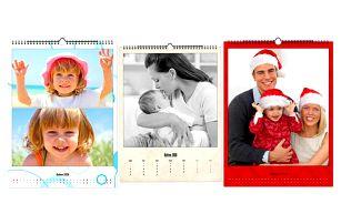 Nástěnný fotokalendář A4/A3 na křídovém papíře