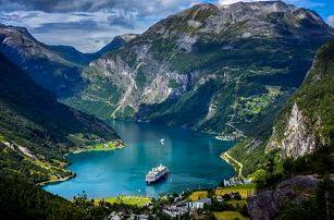 Okruh Skandinávií s plavbou po fjordu | 7denní zájezd s dopravou, ubytováním a průvodcem v ceně