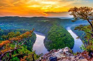 Pobyt v přírodě u Orlické přehrady a poblíž Prahy v Penzionu U Švarců *** s polopenzí a ping pongem