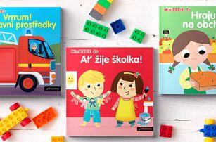 Leporela s prvky Montessori pro děti od dvou let