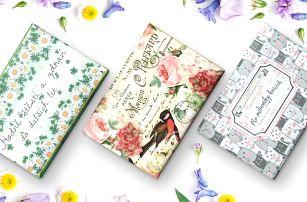 Voňavá mýdla: burgundské, levandule i green tea