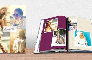 Fotokniha A4 na výšku s lepenou vazbou