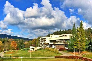 Relax v Luhačovicích: polopenze, wellness a bazén