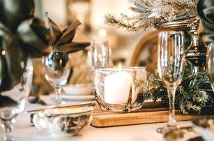 Mariánské Lázně: Vánoce ve Spa Hotelu Děvín ***superior se štědrovečerní večeří, punčem, dárkem a procedurami