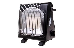 Přenosný plynový ohřívač 2v1