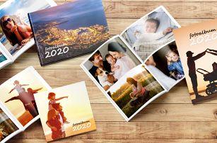 Fotoknihy v pevné vazbě: A4, A5 i čtvercová