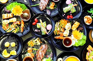 6- nebo 7chodové menu ve vietnamské restauraci pro 2
