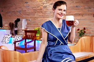 Rožnovské pivní lázně: pobyt s procedurami a jídlem