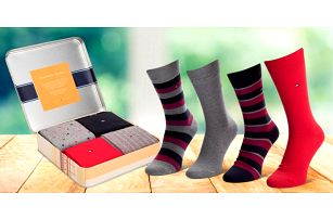 Dárkové balení pánských ponožek Tommy Hilfiger