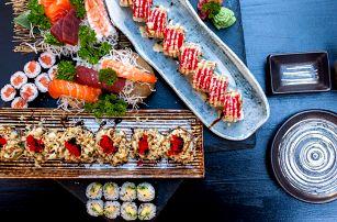 Voucher na 500 i 1000 Kč na sushi a nápoje