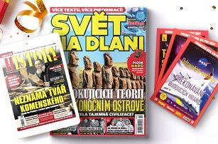 Předplatné Světa na dlani a el. verze History Revue