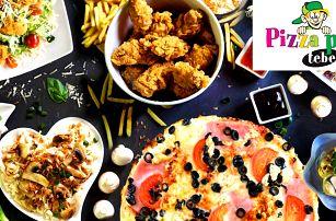 Otevřené vouchery na jídlo i pití z Pizzy pro tebe