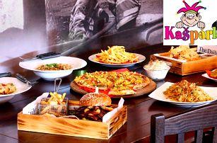 Otevřené vouchery na cokoli z Kašpárkovy pizzy