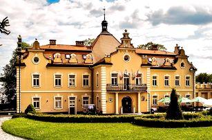 Pobyt na zámku Berchtold se snídaní a wellness